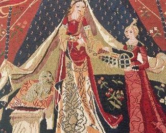 Framed tapestry