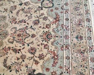 10' by 8' wool rug