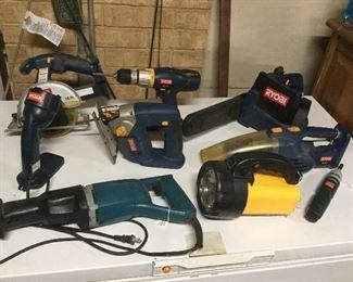 Power tools..