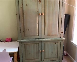 farm style armoire tv cabinet