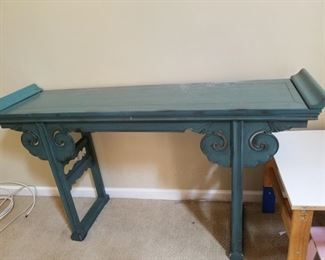 Beautiful altar table