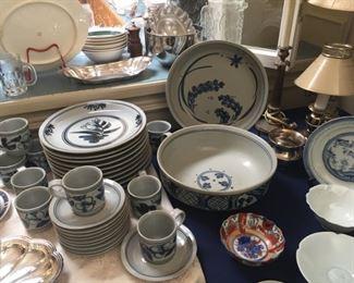 Iron Mountain pottery dishes
