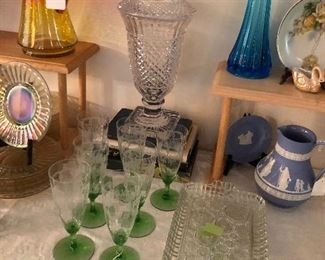 Pattern glass Tiffin glass  Art glass......