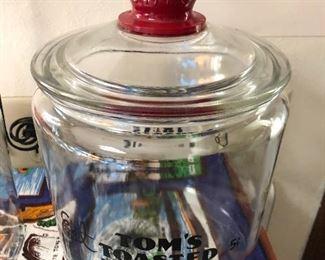 Old Tom's peanut jar