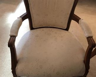 One of 2 very nice occasional chairs