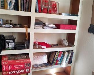 Puzzles, games, books