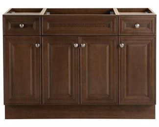 Glensford 48 in. W x 22 in. D Bathroom Vanity Cabinet in Butterscotch W/ TOP