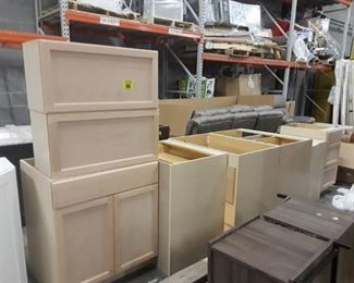 Hampton Bay Assembled Easthaven Cabinet Set (9pc)