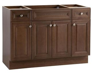 Glensford 48 in. W x 22 in. D Bathroom Vanity Cabinet in Butterscotch