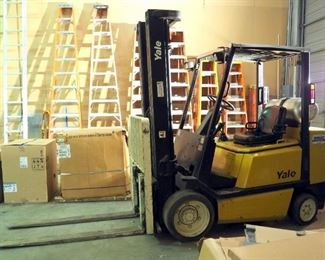 Yale LP Industrial Fork Truck, Model #GLC060TFNUAE094