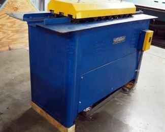 "Lockformer 16 Gauge Pittsburgh Roll Former, Serial #8208, 36"" x 59"" x 27"""