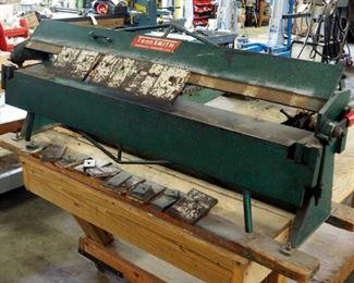 Tennsmith 48-1/4 Inch Bending Length, Bench Machine Box and Pan Brake