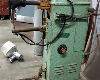 Heavy Duty Rex Electric Spot Welder, 220 Volt, Serial #7599