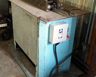 Lockformer Electric Sheet Metal Duct Seamer