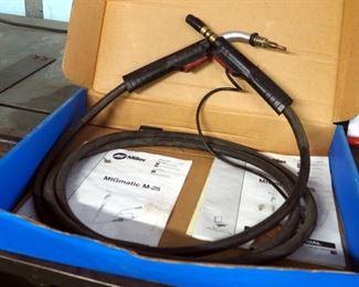 Miller Migmatic Wire Welding, Mig Welding Guns, Qty 3