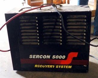 Sercon A5000 Refrigerant Recovery System