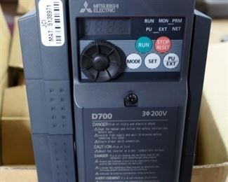 Mitsubishi Electric Compact Inverter Model #FR-D700, New In Box