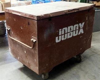 "Rolling Steel Jobox, 40"" x 50"" x 30"""
