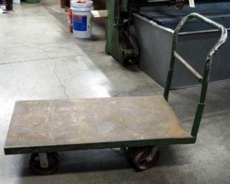 """Heavy Duty Steel Rolling Steel Cart, 40"""" x 48"""" x 24"""""""