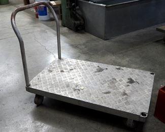 """Aluminium Rolling Cart, 39"""" x 48"""" x 30"""""""
