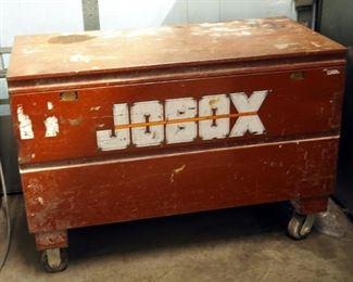 "Steel Rolling Jobox, 33"" x 48"" x 24"""