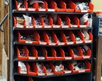Hardware Including Nuts, Bolts, Washers, Couplings, Anchors And More Includes Sorting Bins