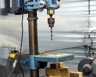 Galaxy Heavy Duty Drill Press Model #1458, 12 Speed, 5/8 Capacity