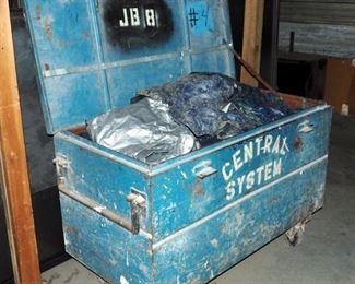 """Steel Rolling Job Box, 33"""" x 50"""" x 24"""""""