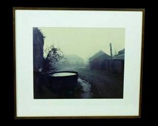 "Photograph.    ""Famine Tub""    1/10    C Print 30"" x 40"" $2,500.00 firm"