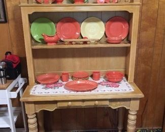 Hutch featuring Homer Laughlin Fiesta Ware