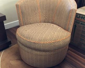 custom swivel chairs