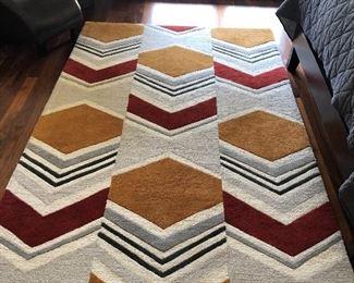 chevron rug 5 by 8