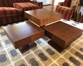 modern wood coffee table