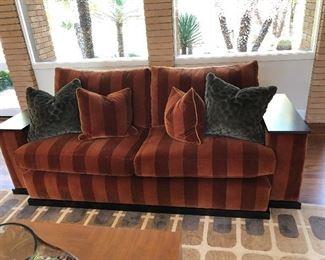custom velvet sofa retail $6500