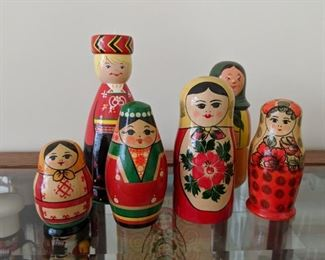 Russian stacking dolls