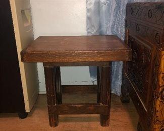 Handmade small table