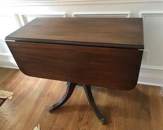 Antique Drop Leaf Table $ 220.00