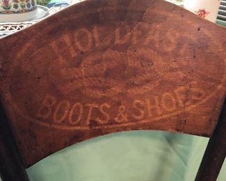 Antique Thornet advertising chair