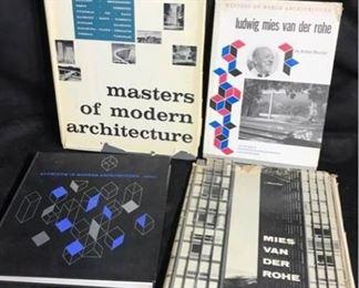 K018 MidCentury Architecture Books Van Der Rohe