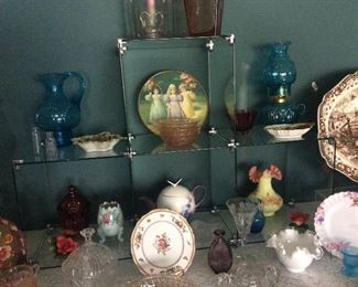 Antique glassware