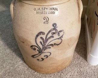 Seymour Hartford 2 Gallon Stoneware Crock