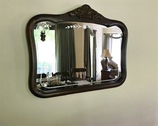 Lovely Etched Mirror