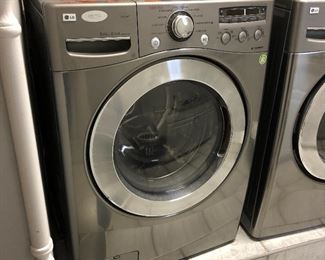 Excellent newer LG FRONT LOADING WASHER AND DRYER