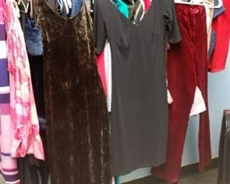 excellent selection of ladies clothing - all designer labels