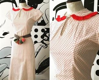 20s and 30s day dresses