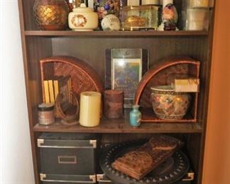 Shelving and home decor