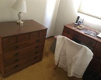 Dresser and Desk