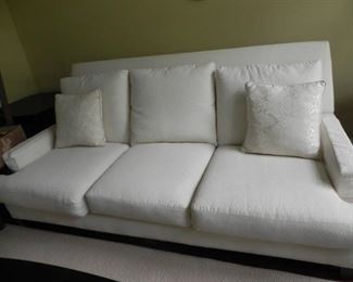 LEE WHITE SOFA 250.00