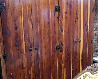 Large Cedar Wardrobe