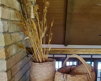 Baskets woven in Africa